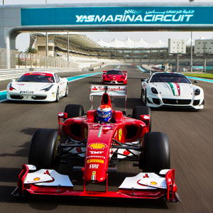 Formula One Yas Marina with NSO Entertainment